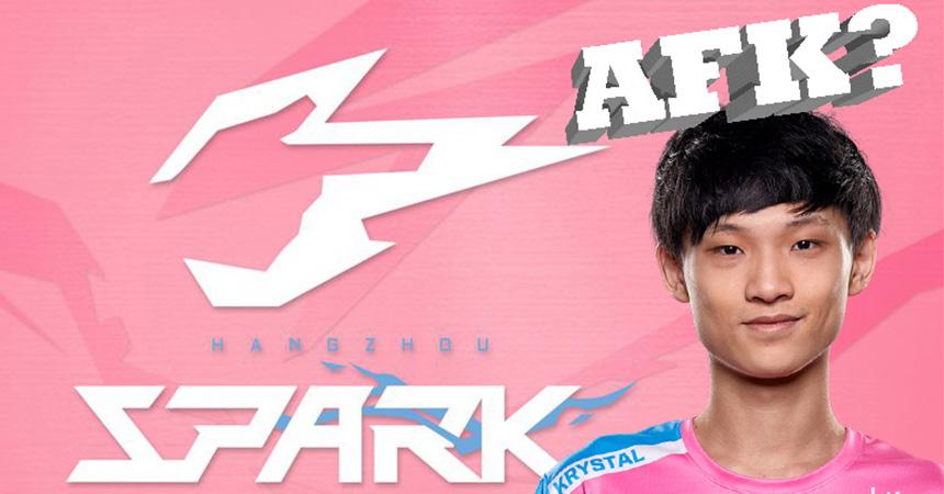 Hangzhou Spark to discipline Krystal on their main roster