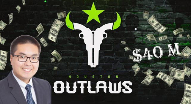 Houston Outlaws to be sold for $40 Million