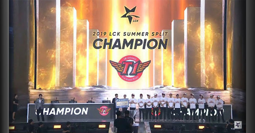 SKT defeat Griffin to win their Eighth LCK Title