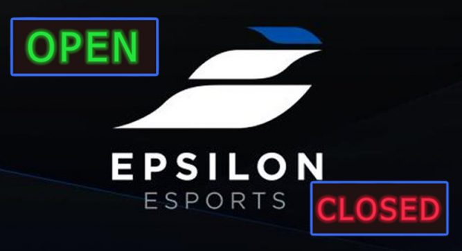 Is Epsilon Esports shutting down?