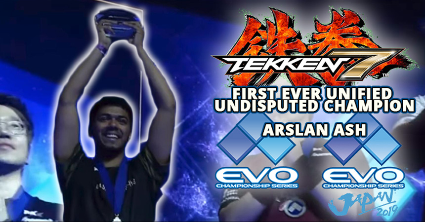 Reliving our favorite EVO moments: Arslan Ash Tekken 7 Unified Champion