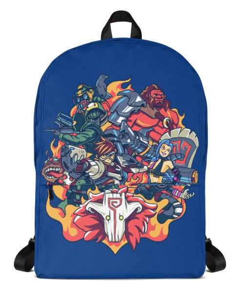 Champions of Battle Backpack – Blue
