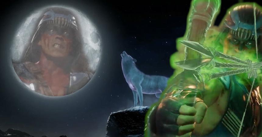 Nightwolf returns to wreak havoc in Mortal Kombat 11