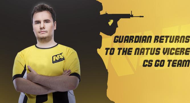GuardiaN returns to the Natus Vincere CS:GO team