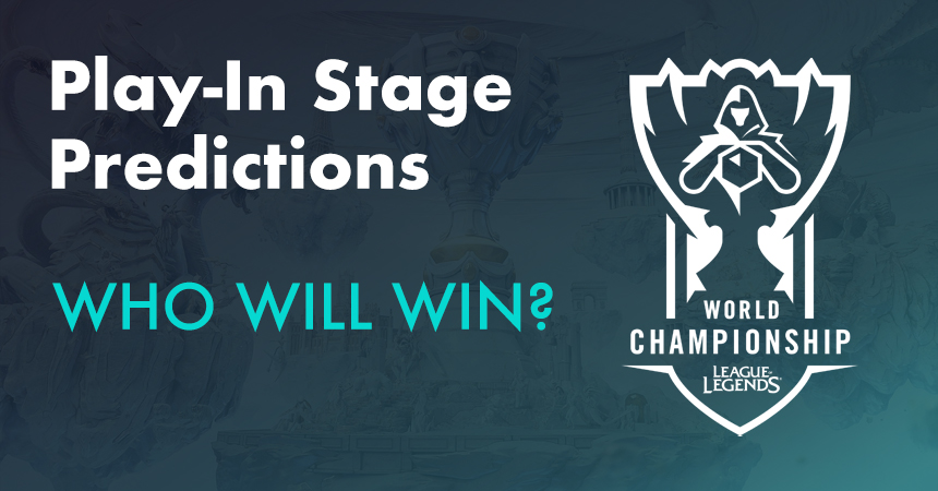 League of Legends Worlds Play-In Stage predictions