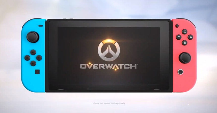 Overwatch is Coming to Nintendo Switch this October