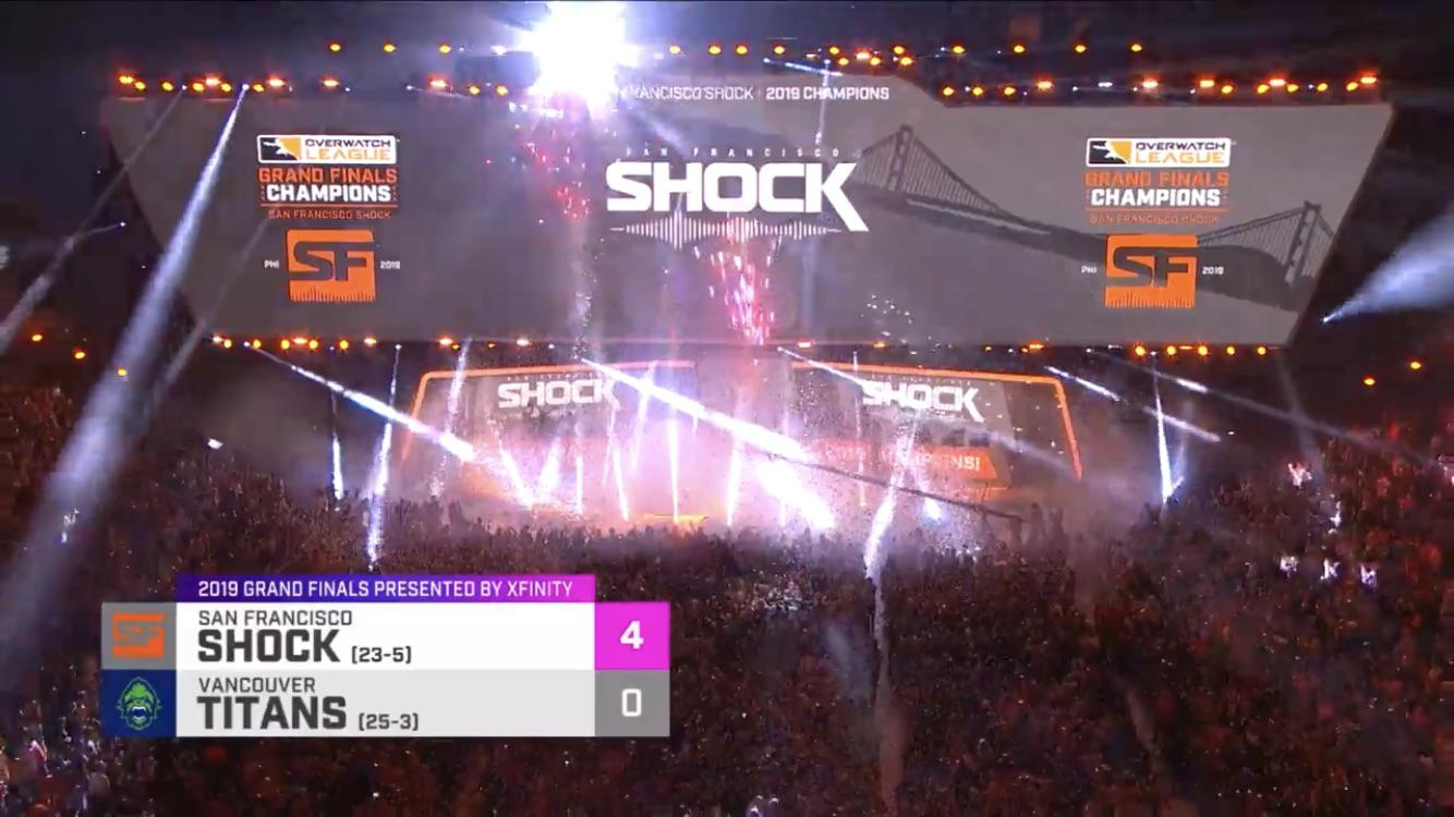 San Francisco Shock win the Overwatch Grand Finals