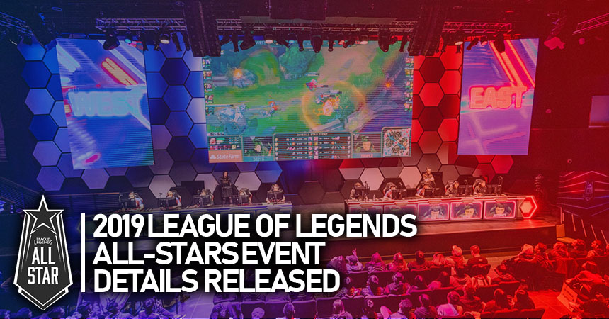 League of Legend's 2019 All-Star event announced