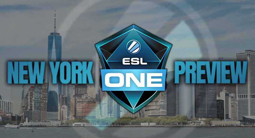 A watch guide to ESL One: New York 2019
