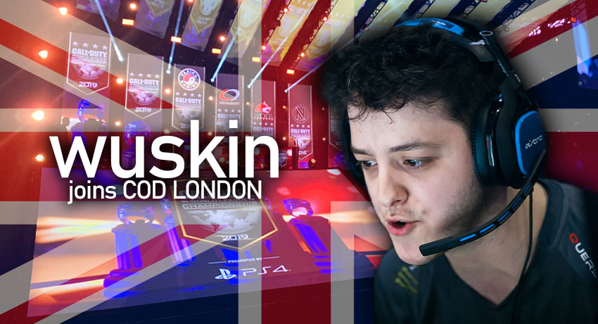 Wuskin joins London Call of Duty franchise