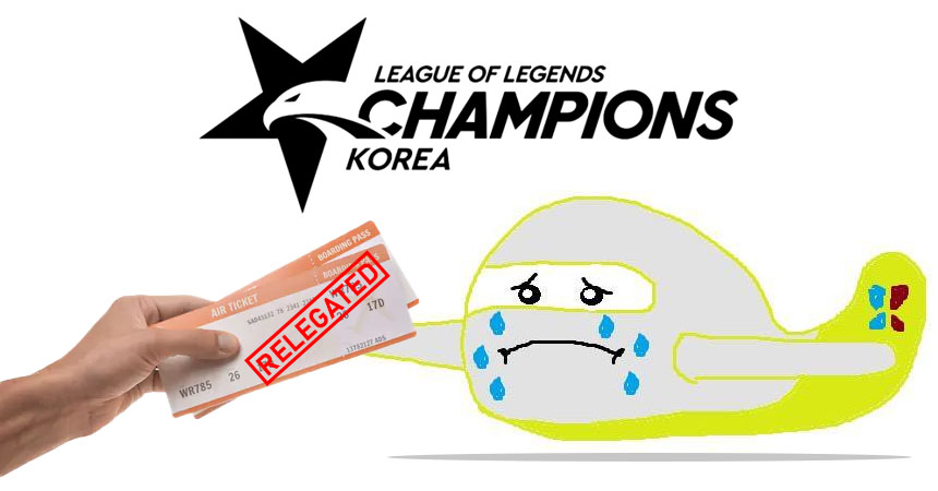 Jin Air Green Wings Relegated from the LCK