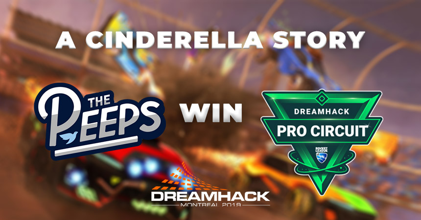 The Glass Slipper Fits for The Peeps at Dreamhack Montreal
