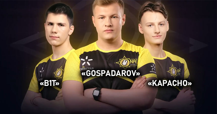 Na'Vi sign three players to Junior Team after Esports Camp