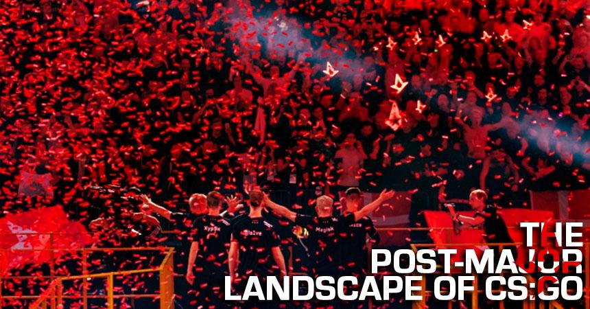The post-major landscape of CS:GO