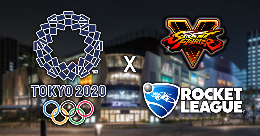 Rocket League and Street Fighter V to have a $500k Tournament in part of Lead-up to the Olympics