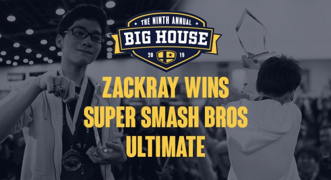 Zackray wins Ultimate at The Big House 9