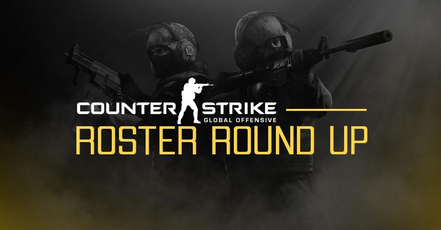 CS:GO Roster Round-Up