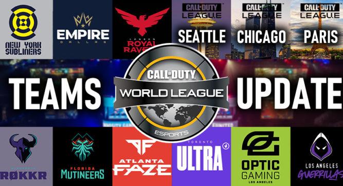 Call of Duty League: Roster Rundown