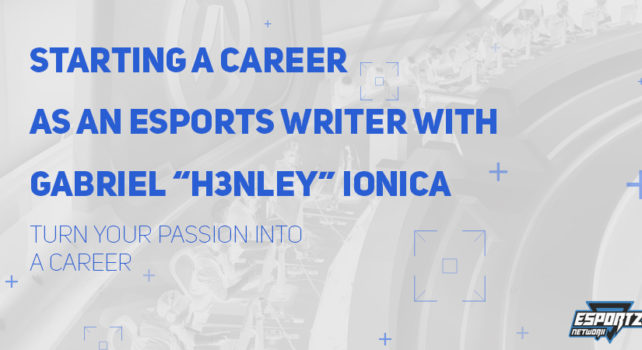 Starting a Career as an Esports Writer – Esportz Network Podcast