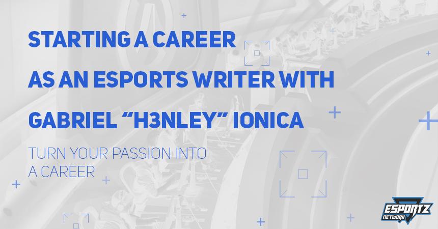 Starting a Career as an Esports Writer – Esportz Network Podcast