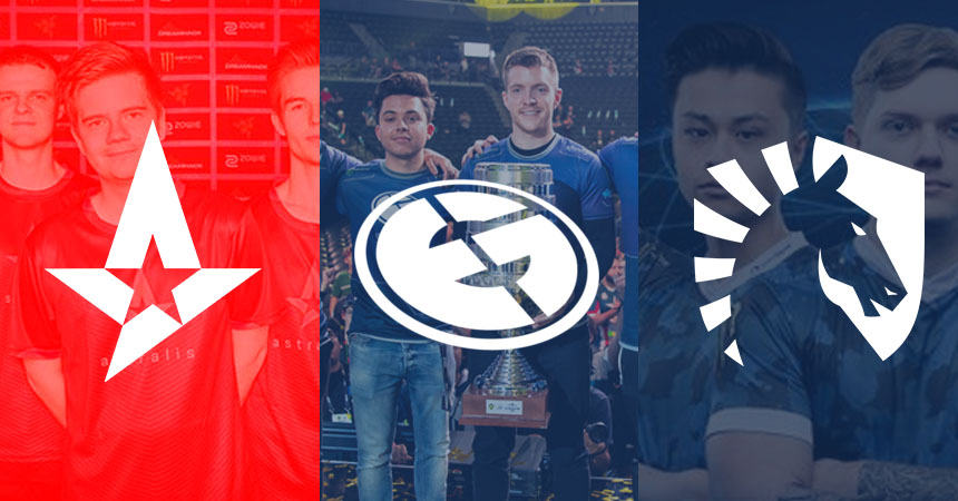 Evil Geniuses, Team Liquid and Astralis: a three-way battle for CS:GO supremacy