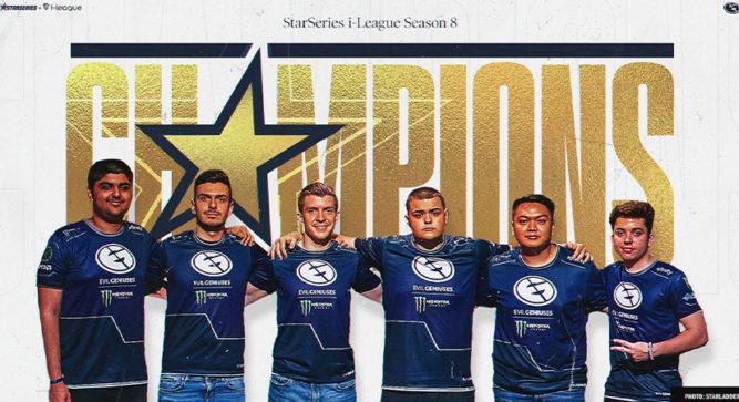 Evil Geniuses crowned Grand Champions of StarSeries; i-League Season 8