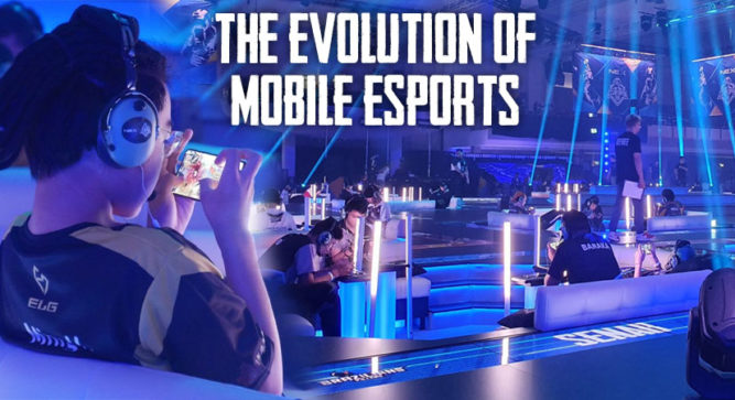 Evolution of mobile esports