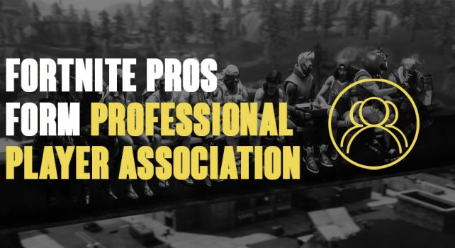 Fortnite pro players unite together to form new players' association