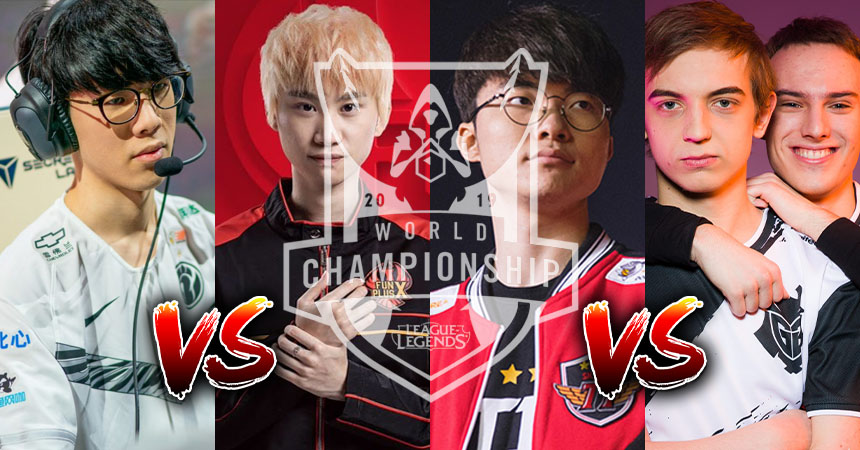 League of Legends 2019 Worlds Semifinals Preview