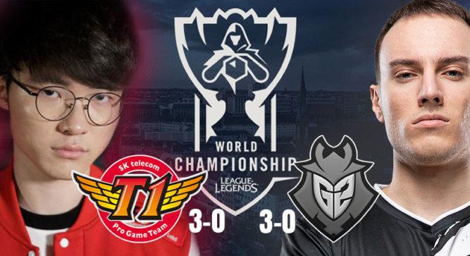 League of Legends World Championship Week 1 Rundown