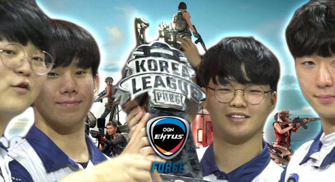 OGN Entus Force win PUBG Korea League Phase 3, Korea's PUBG Global Championship teams decided