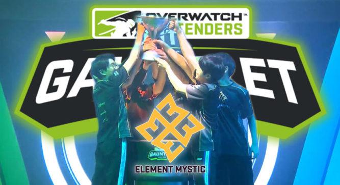 Overwatch Contenders Gauntlet champion crowned