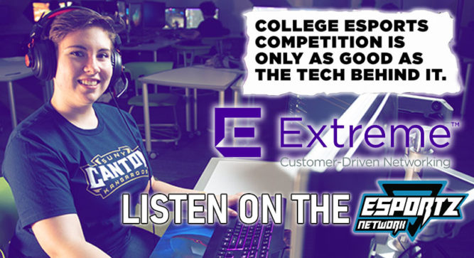 How Extreme Networks is Building Esports Infrastructure in Schools