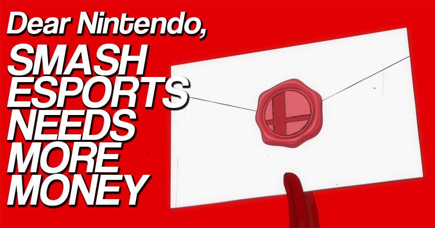 Smash Bros. esports needs more money