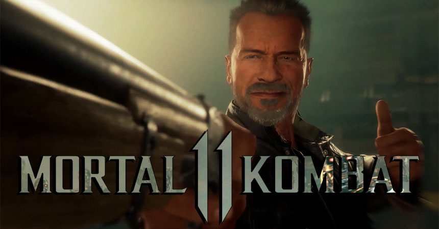 The Terminator Trailer for MK11 is finally here
