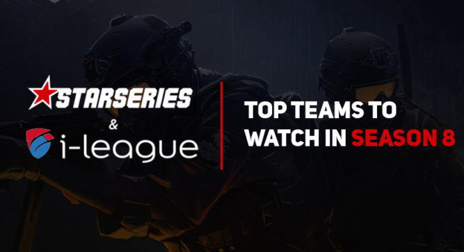 Top contenders at StarSeries & i-League Season 8