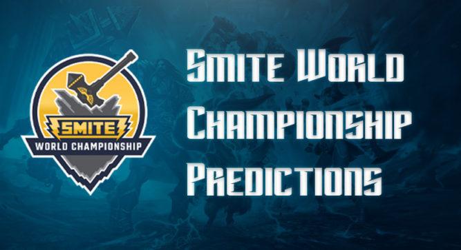 2019 SMITE World Championship predictions