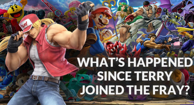 A Look at Smash Ultimate's Newest Fighter: Terry Bogard