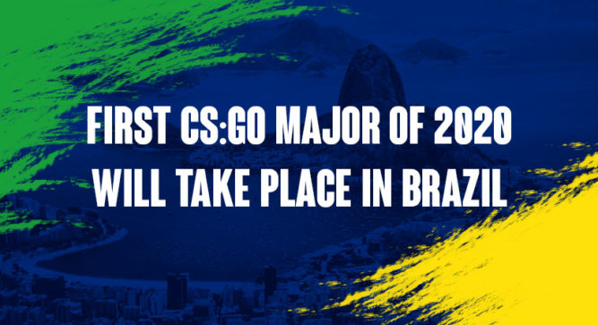 Brazil to Reportedly Host the First CSGO Major of 2020