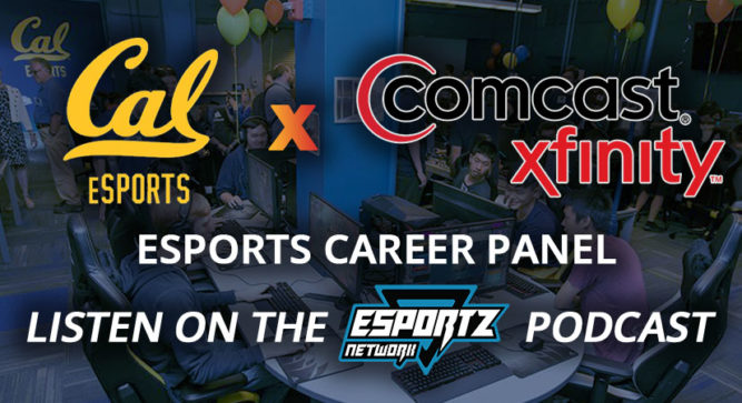 Comcast and Cal Esports Host a Panel on Esports Careers