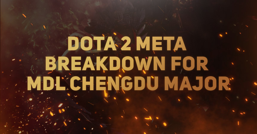 Dota 2: Meta at the MDL Chengdu Major