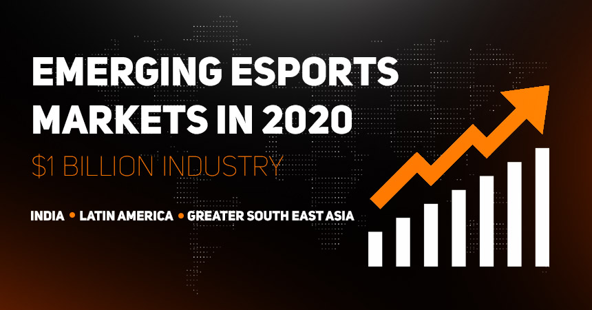 Emerging esports markets in 2020