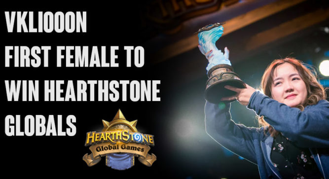 'Forget your gender and go for it,' says first-ever female Global Hearthstone GrandMasters Champion