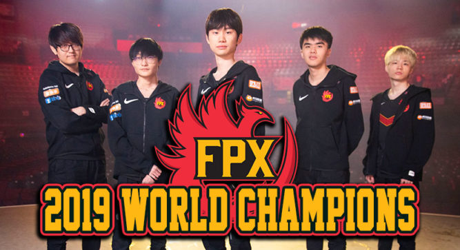 FPX, the 2019 League of Legends Worlds Champion