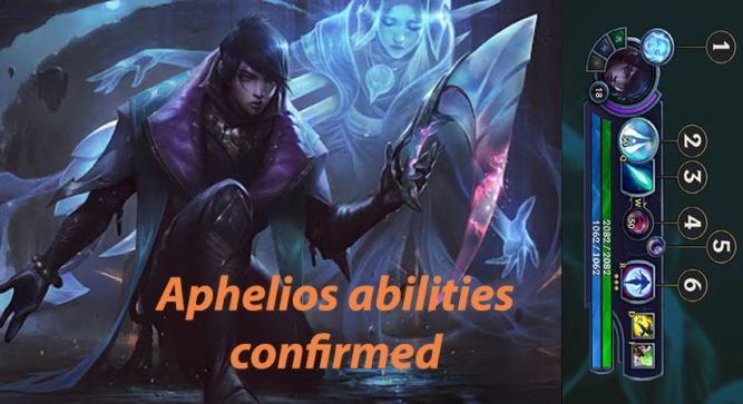 Aphelios, League of Legends new champion