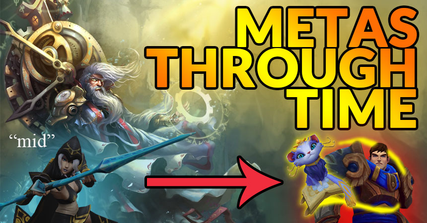 Metas Through Time:  A Look Into the Most Popular Metas in League of Legends