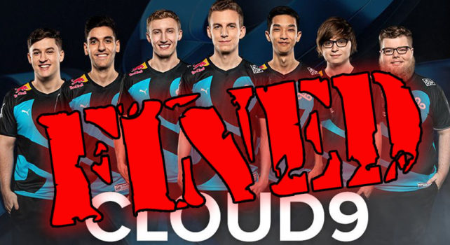 Cloud9 fined by Riot Games