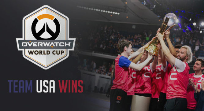 Team USA take Overwatch Cup with Dominant Performance