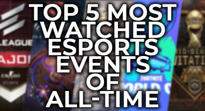The top 5 most-watched esports events of all time