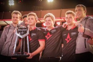 A time when Astralis had not yet won a CS:GO Major